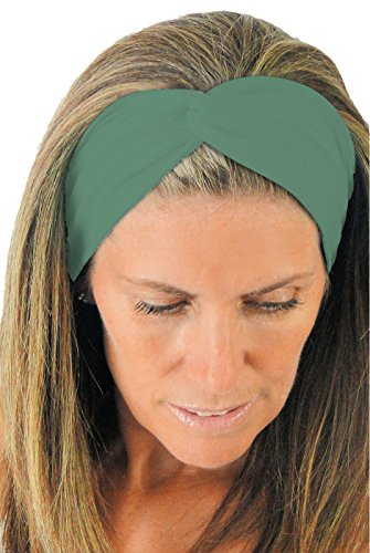 ice-cream-knottet-twist-foresta-grn-sport-headband