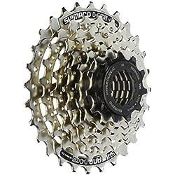 Shimano CS-HG41-7 - Cassette para bicicleta, 11 - 28 dientes, 7 velocidades