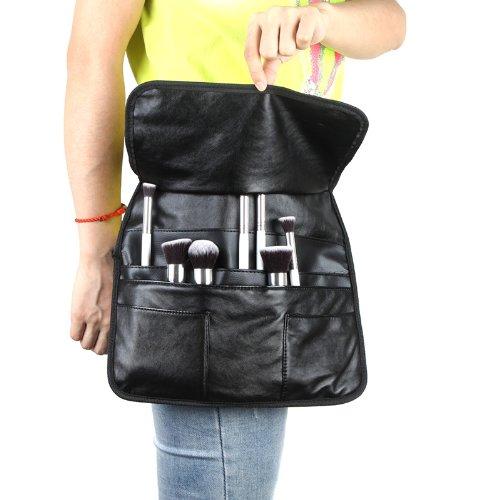 Anself EMB professionnel pochette à pinceaux maquillage trousse à brosse cosmétiques sac à ceinture