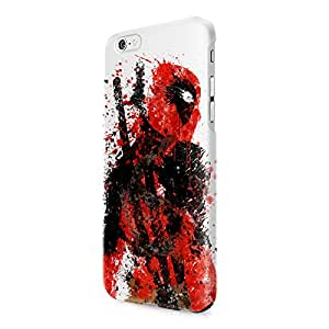 Deadpool Splatter Superhero Comics Hard Snap-On Protective Case Cover For Iphone 6 / Iphone 6S