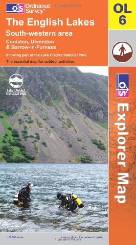 Price comparison product image The English Lakes: South Western Area (OS Explorer Map Series): South Western Area (OS Explorer Map Series)
