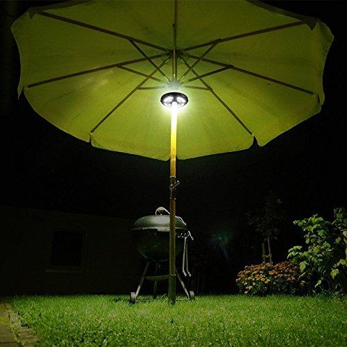 Illuminazione Per Ombrelloni Da Giardino.Lampada Per Ombrellone Luce Ombrellone Da Giardino