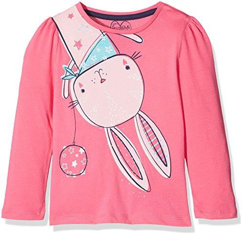 Mothercare Baby-Mädchen Langarmshirt Applique, Rose, 86 (T-shirt Applique)