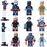 Todwish FG 0160-0168 Iron Man 9pcs/set of small particles new Bricks Blocks Sets Figures Minifigures Learning Toys