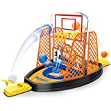 Popsugar 2 Sided Finger Basketball Shooting Table Game Fun Sports Toy for Kids