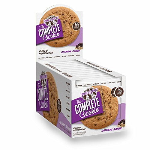 Lenny & Larry's Complete Cookie Oatmeal Raisin 4 OZ (113g)