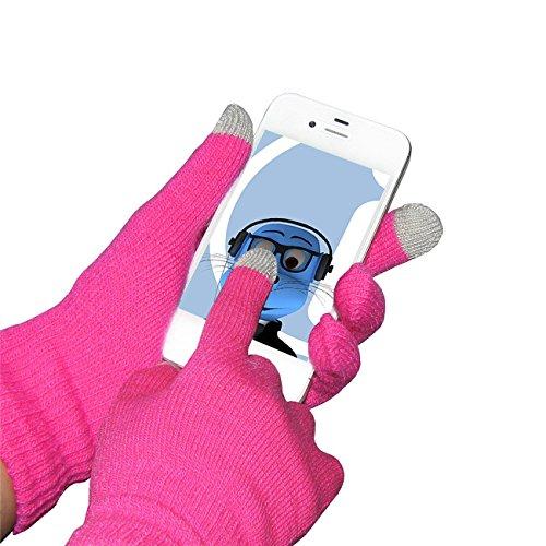 rosa-unisex-full-finger-one-size-touchtip-touchscreen-winterhandschuhe-fur-htc-evo-4g