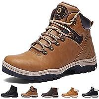 5a476b50e3b0 SIXSPACE Winterstiefel Warm Gefütterte Winterschuhe Outdoor Schneestiefel  Winter Boots für Herren Damen