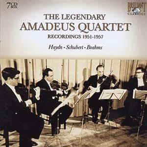 The Legendary Amadeus Quartet : Recordings 1951-1957
