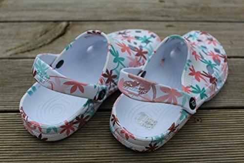 Tamancos Moda Schlappen Super Chinelos Dinâmicas Senhoras primavera Relógios Coloridos Gartenclogs Borracha Claros Projeto Jardim Badeschuhe Sapatos qXz48xwAn