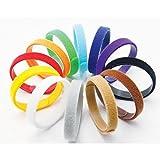 2-TECH Welpen Halsbänder 12 Farben weich anpassbar wiederverwendbar beschriftbar 35 cm lang