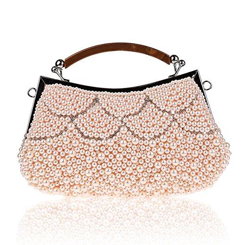 borsa a mano in rilievo/ borsa di moda strass partito/ borsa da sera delle signore-A A