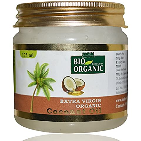 Indus Valley Bio Organic Extra Virgin Organic Coconut Oil With The Natural Aroma Of Coconut Oil For Hair & Skin...