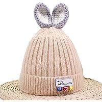Aclth Chicos de Invierno para niñas Sombrero más cálido para niños Sombrero de Bebe para niños pequeños para niños pequeños Sombrero de Invierno para niños para Actividades de Snowboard al Aire Libre