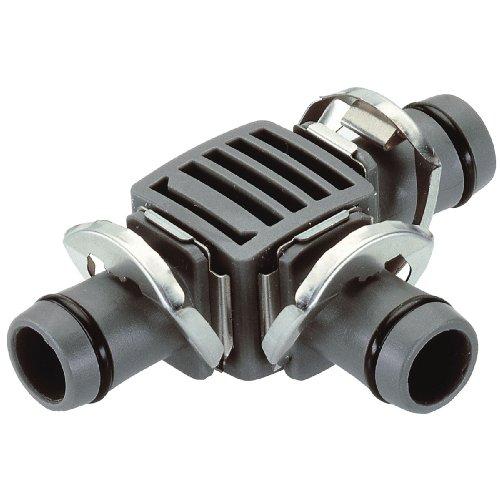 """GARDENA  Micro-Drip-System T-Stück, 13mm (1/2\""""): Praktische Verbindung zur Abzweigung des Verlegerohrs (8329-20)"""