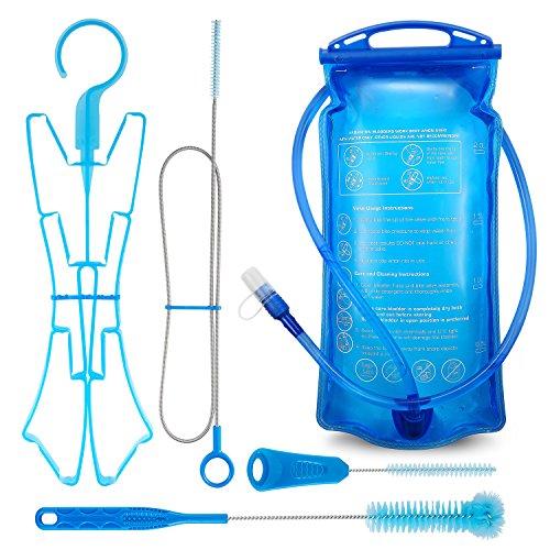 2 Liter Trinkblase Trinkblase Wasserblase Sport Wasser Blasen für den Außenbereich - Reinigen Milch