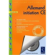 Allemand initiation CE (1CD audio)