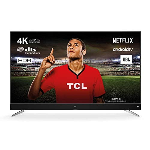 TCL U49C7006 Televisor 124 cm (49 pulgadas) Smart TV (4K, Android TV, HDR 10, Triple Tuner, Micro Dimming,...