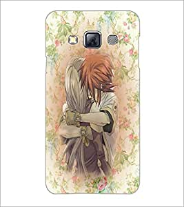 PrintDhaba Couple D-3710 Back Case Cover for SAMSUNG GALAXY A3 (Multi-Coloured)