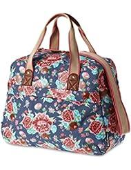 Basil Bloom Carry All Bag 18L Alforja para mujer bolsa de bicicleta bolso Bike, Indigo Blue