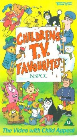 childrens-tv-favourites-nspcc-vhs