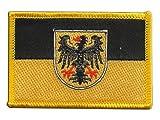 Flaggen Aufnäher Deutschland Stadt Aachen Fahne Patch +