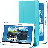 Azul Pu Leather Stand Funda Case Para El Samsung Galaxy Tab 4 10.1 T530