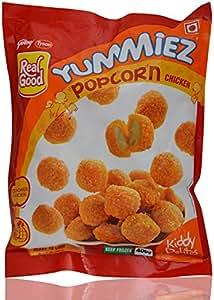 Godrej Real Good Yummiez Popcorn Chicken, 400g Pouch