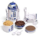 ThinkGeek Star Wars R2-D2 Measuring Cup Set (Exclusive and Officially Licensed)