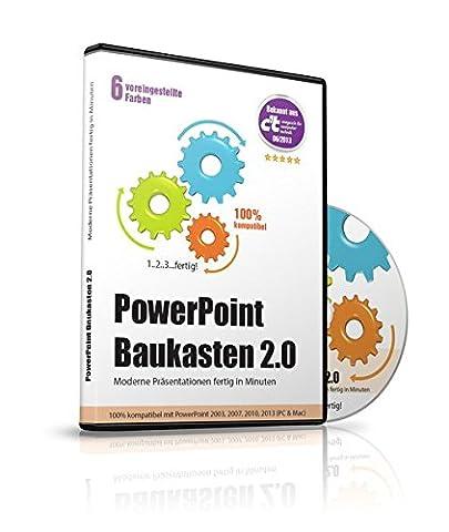 PowerPoint Baukasten 2.0 - Präsentationen fertig in Minuten -- Mit