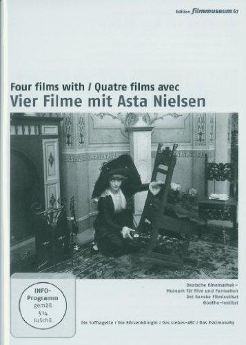 Vier Filme mit Asta Nielsen [2 DVDs]