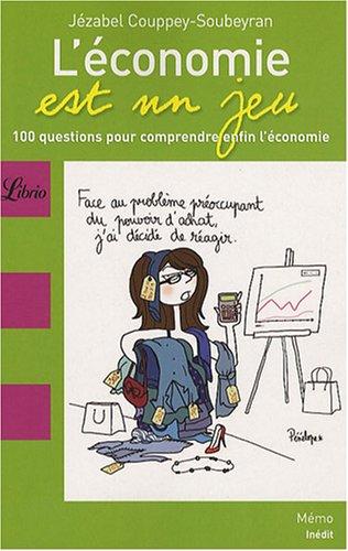 L'economie est un jeu par Jezabel Couppey-Soubeyran