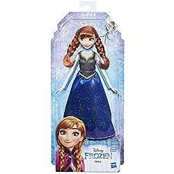 Disney Frozen-E0316 Muñeca Anna, (Hasbro E0316ES2)