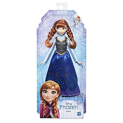 Frozen Up Kostüm Dress - Hasbro Disney E0316ES2 - die Eiskönigin Anna Puppe