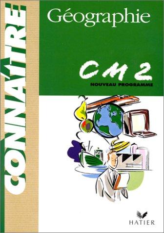 Géographie CM2 : Programme 1998