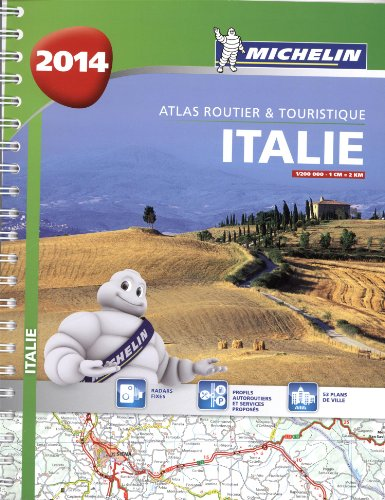 Atlas Italie 2014 Michelin