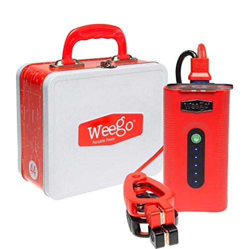 Preisvergleich Produktbild Weego Jump Starter 44 N44 Portable Power Source & Tactical Light by Weego