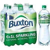 Agua mineral con gas Buxton 6 x 1L
