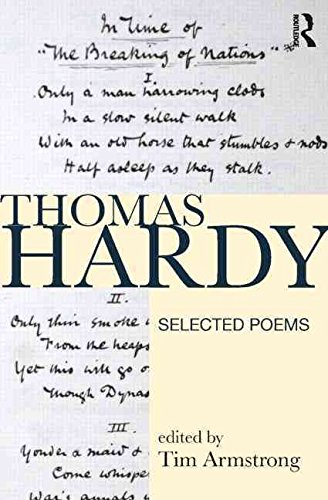 [Thomas Hardy: Selected Poems] (By: Tim Armstrong) [published: July, 2009]