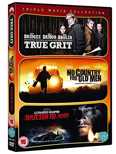 Bild von True Grit / No Country For Old Men / Shutter Island [DVD]