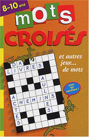 Mots Croisés 48p 8/10 ans