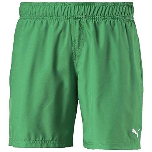 PUMA Hose Active Cat Logo Beach Shorts - Bóxers para competición para niño, Color Verde, Talla s