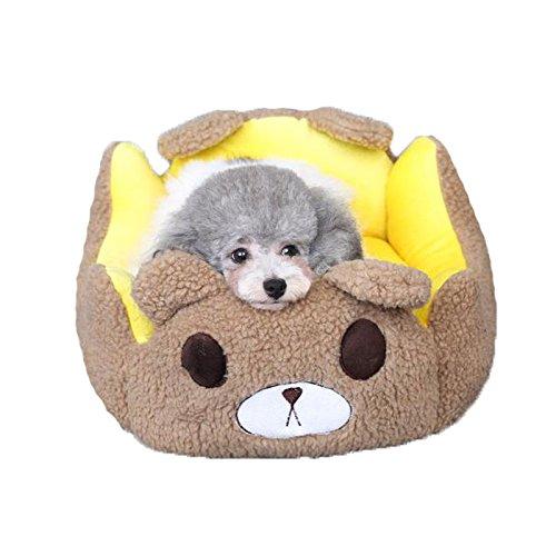 Pet harem- Teddy chenil amovible et lavable quatre saisons tapis de litière universelle chat Xiongji poupée Bomei petit chien chat pour animaux de compagnie litière ( taille : M )