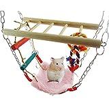 treasure-house Hängematte & playbridge Rennmaus oder Hamster Käfig Pet Spielzeug