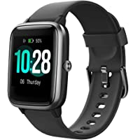 Yamay smart watch, fitness bracelet with heart rate monitor, IP68 waterproof fitness watch, sports watch, pedometer for…
