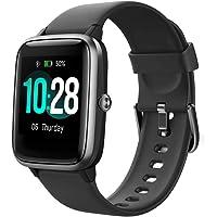 YAMAY Smartwatch,Fitness Armband mit Pulsuhren Fitness Tracker Wasserdicht IP68 Fitnessuhr Sportuhr Schrittzähler für…