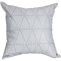 Fodera per cuscino con cerniera 40x40cm, stile scandinavo svedese, tratti