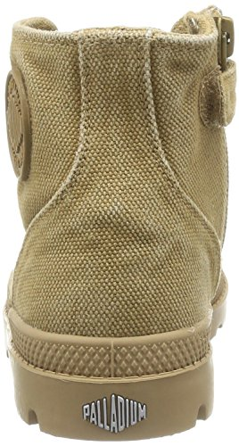 Palladium Pampa Hi Zip K, Boots mixte enfant Marron (Woodlin/Honey Mustard)