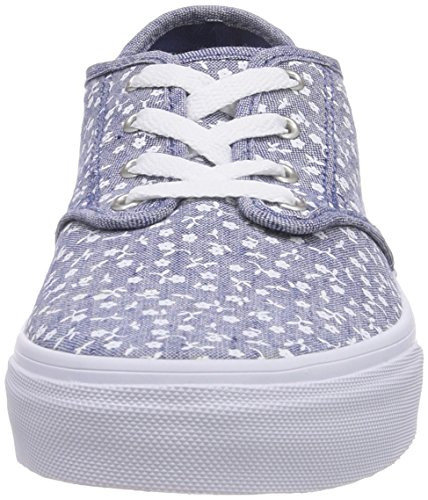Vans CAMDEN Mädchen Sneakers Grau ((Ditsy) navy/wh FED)