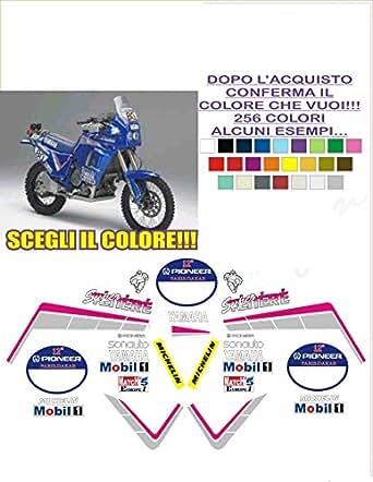 Kit adesivi decal stikers yamaha xtz 750 supertenere replica dakar sonauto 90 (ability to customize the colors)